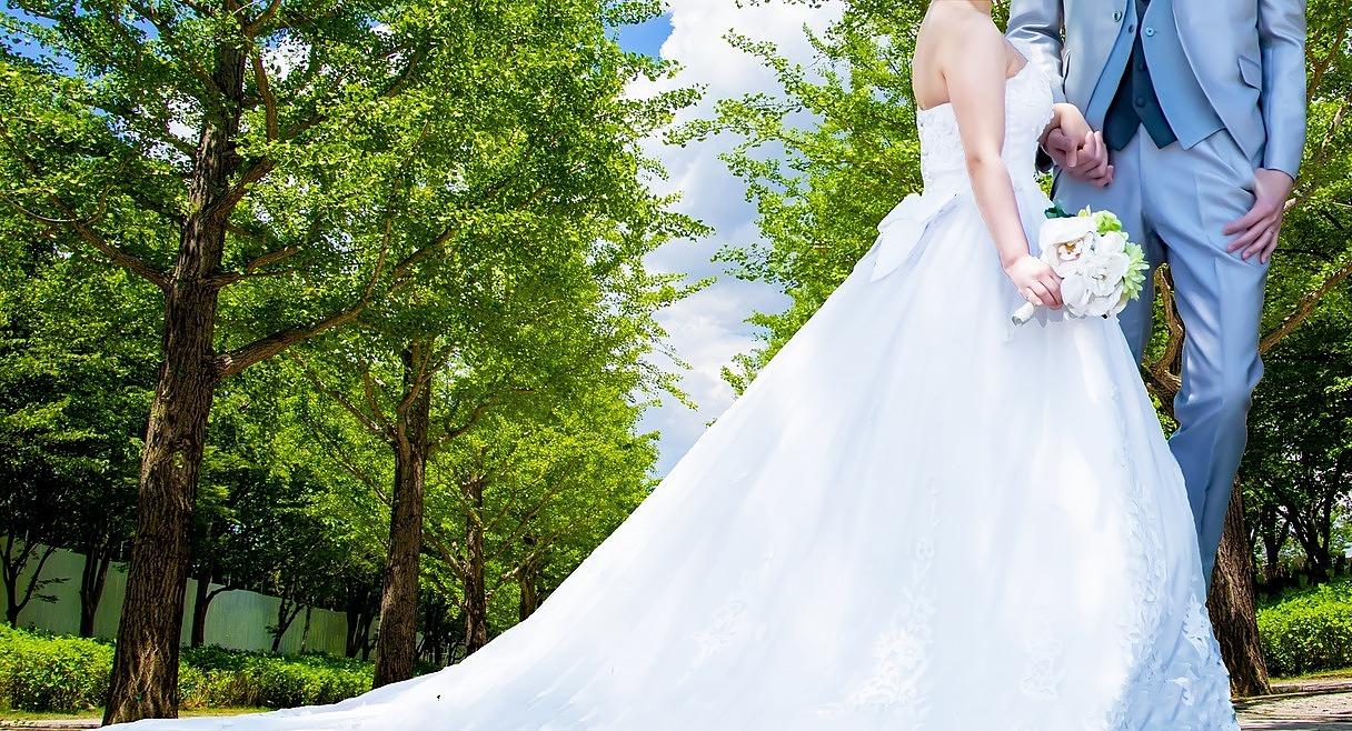 花嫁の横顔